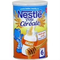 Bột ngũ cốc ăn dặm Nestle vị mật ong - 400g