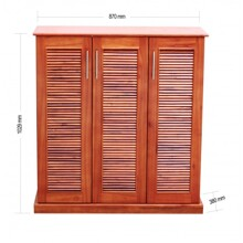 Tủ giày Lam Sơn 90A.TG - KT 90 x 38 x 100 cm, màu đồng đỏ