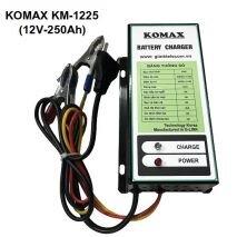 Nạp ắc quy tự động Komax 12V- 250Ah KM-1225