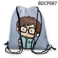 Túi rút Cậu bé đọc sách  - BDCP087