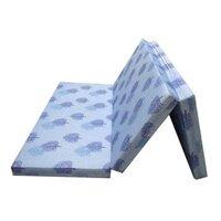Nệm gấp 3 bông ép Hàn Quốc vải Gấm Valide NG0918B01 - 178x195x09 cm