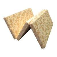 Nệm gấp 3 bông ép Hàn Quốc vải gấm cao cấp loại 10cm 138x195x9(cm) NG0914G01