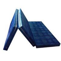 Nệm gấp 3 PE vải Gấm Valide NPE0516B01 - 155x195x05 cm