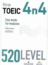 New TOEIC 4n4 520 level - Neungyule Education (Kèm 1 CD)