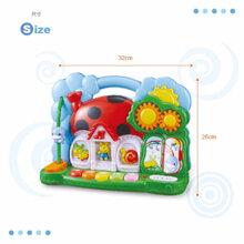 Ngôi nhà đồ chơi có nhạc cho bé Kuku KU7040