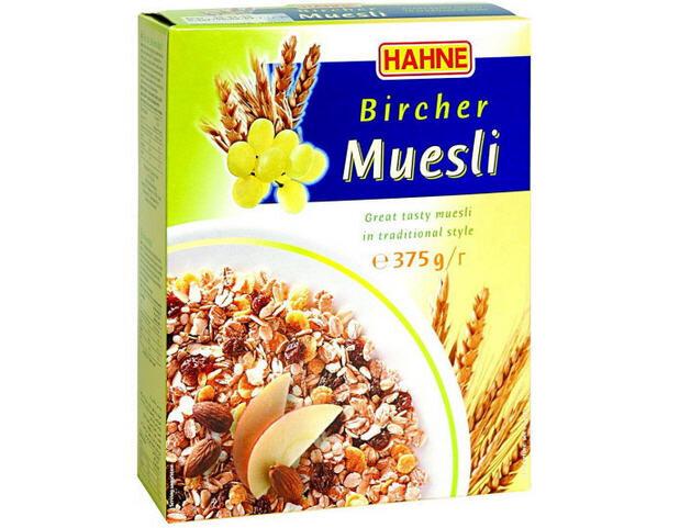 Ngũ cốc Muesli fruil  hiệu Hahne 375g
