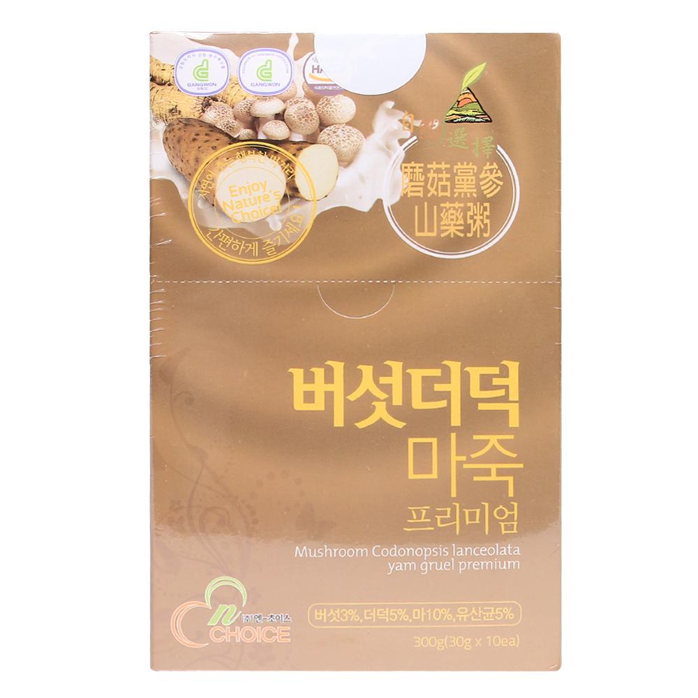 Ngũ cốc N-Choice nấm và sa sâm 300g (Trên 6 tháng)