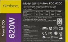 Nguồn PC Antec ATX Neo ECO 620C 620W