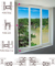 Cửa sổ trượt 3 cánh SAMWON DOORWINDOWS ST1421S3