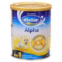 Sữa bột Dielac Alpha Step 1 - hộp 900g (dành cho trẻ từ 0 - 6 tháng)