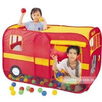Nhà bóng cho bé - Hình xe buýt LI-655