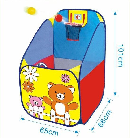 Nhà bóng, lều bóng ném bóng rổ phát triển chiều cao cho bé