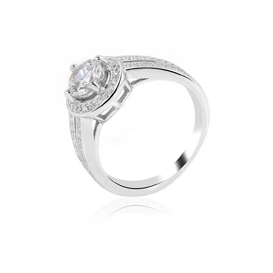 Nhẫn bạc Carnation