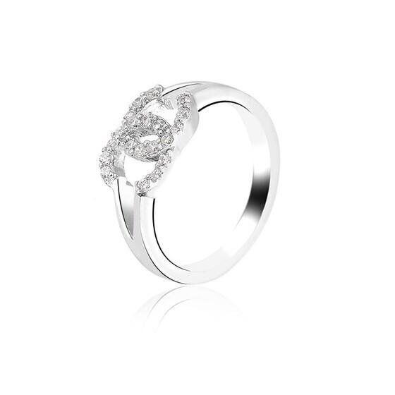Nhẫn bạc Chanel Perfect