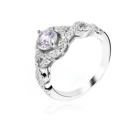 Nhẫn bạc Holly Love