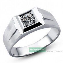 Nhẫn bạc nam Bạc Hiểu Minh NA027