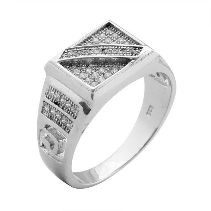 Nhẫn bạc nam Bạc Ngọc Tuấn E03NHA000011