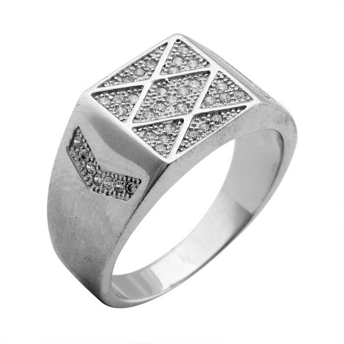 Nhẫn bạc nam Bạc Ngọc Tuấn E03NHA000012