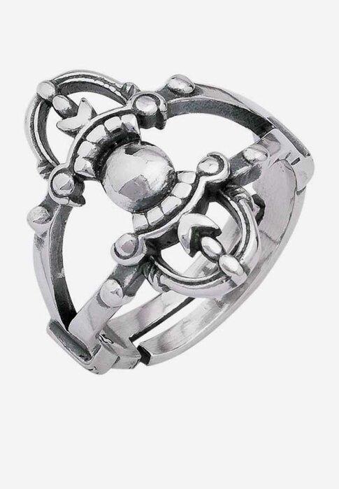 Nhẫn bạc nam Bạc Ngọc Tuấn E15NHA000026