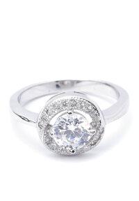 Nhẫn bạc nữ Bạc Ngọc Tuấn E04NHU000009