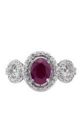 Nhẫn bạc nữ Bạc Ngọc Tuấn T02NHU000885