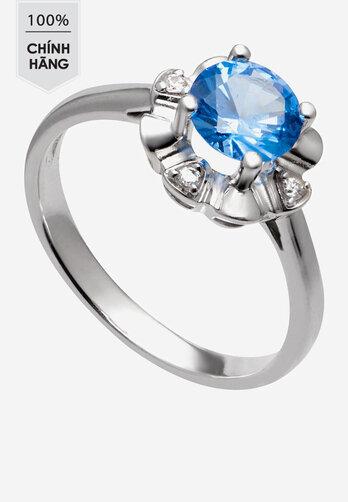 Nhẫn bạc PNJSilver đính đá Synthetic SND2KN08273.400