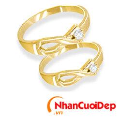 Nhẫn cưới đẹp NC 816