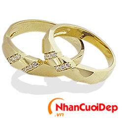 Nhẫn cưới đẹp NC 842
