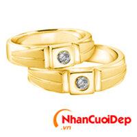 Nhẫn cưới đẹp NC 867