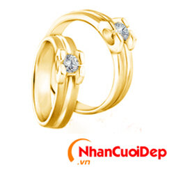 Nhẫn cưới đẹp NC 906