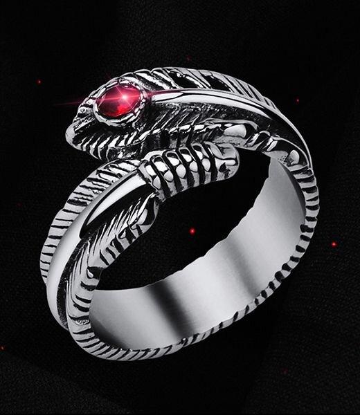 Nhẫn lông vũ N282