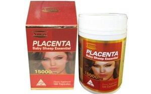 Nhau Thai Cừu Amax Placenta 15000mg x 100 Viên