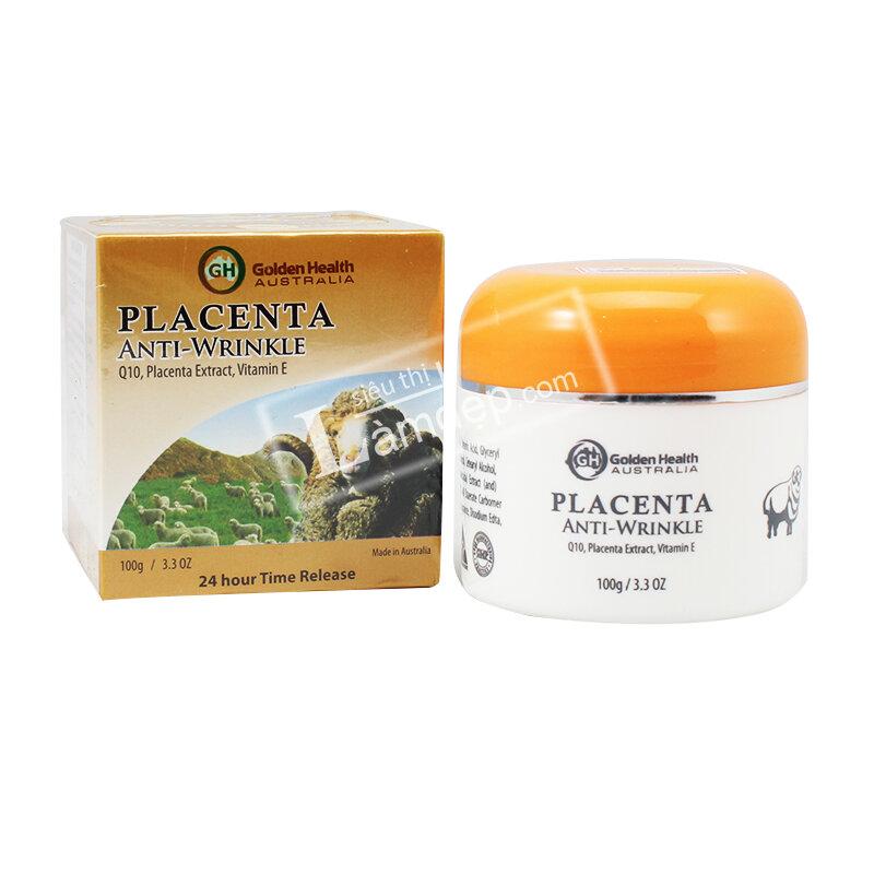 Nhau Thai Cừu Golden Health Placenta Anti-Wrinkle