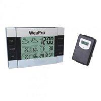 Nhiệt ẩm kế điện tử không dây WeaPro WP002 (WP-002)