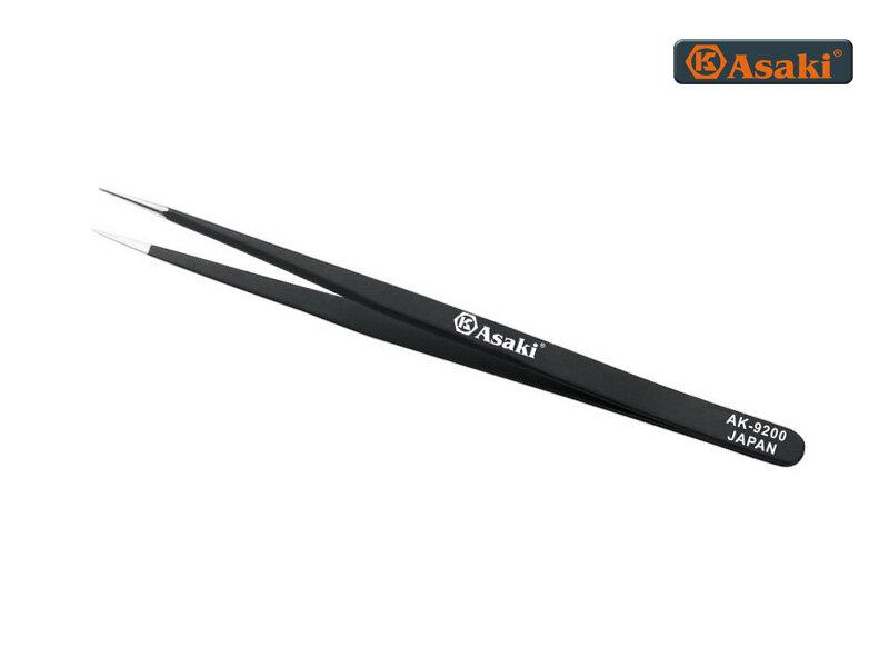 Nhíp gắp linh kiện tĩnh điện mũi nhọn Asaki AK9200