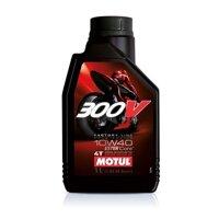 Nhớt cho xe mô tô phân khối lớn Motul 300V Factory Line 10W40 1 lít