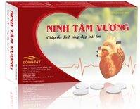 Ninh Tâm Vương - hỗ trợ điều trị chứng nhịp tim nhanh, hộp 30 viên