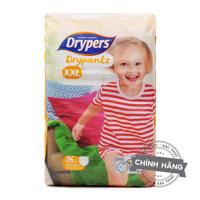 Tã quần Drypers Drypantz XXL36