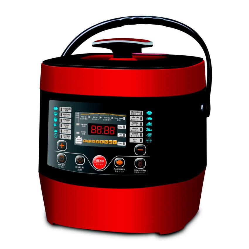 Nồi áp suất đa năng điện tử Sato ST-607PC