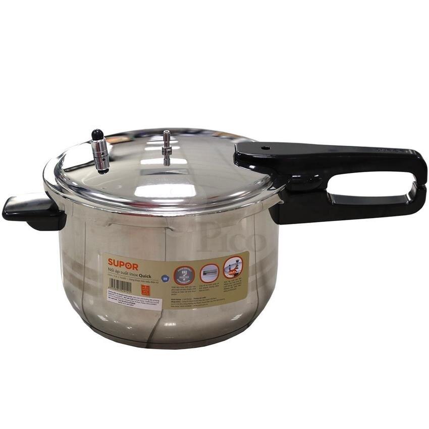 Nồi áp suất Supor YS22ED - 5,2L, Dùng được cho bếp từ