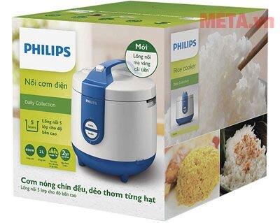Nồi cơm điện Philips HD3119/66 - 2 lít