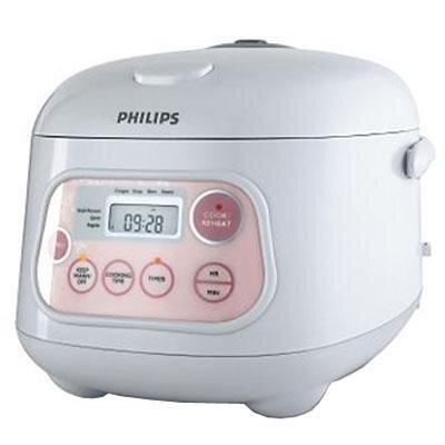 Nồi cơm điện Philips HD4743 (HD-4743) - Nồi điện tử, 1.0 lít, 600W