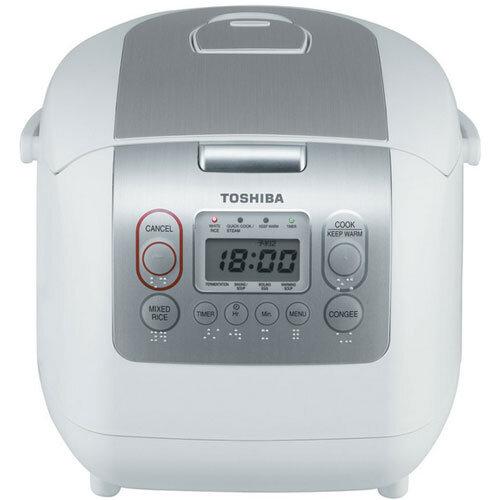 Nồi cơm điện Toshiba RC18NMF (RC-18NMF) - Nồi điện tử, 1.8 lít, 680W