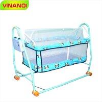 Nôi điện tự động cho bé giá rẻ Vinanoi N20H