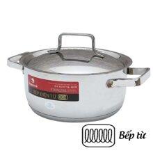 Nồi inox quai cộng Milan Happy Cook N24-ML - 24cm