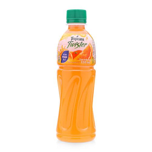 Nước cam ép 10% Twister Pepsico chai 350ml