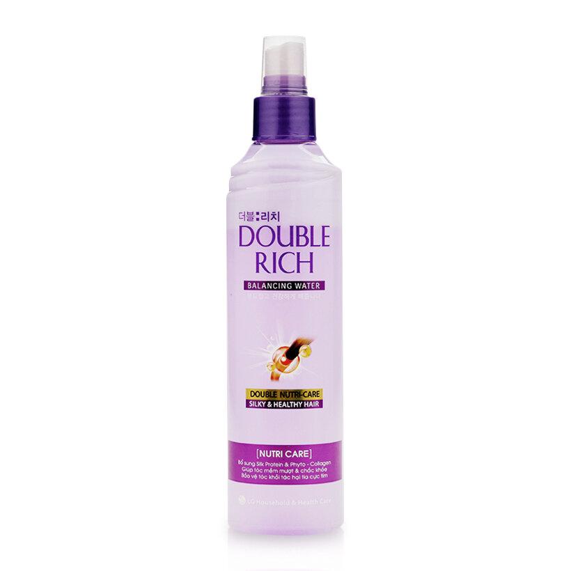 Nước dưỡng tóc Double Rich Balancing Water Nutri Care 250ml