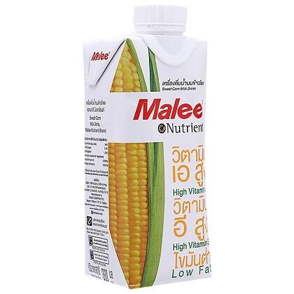 Nước ép ngô ngọt Malee Nutrient hộp 330ml