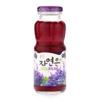 Nước ép nho Woongjin chai 180ml