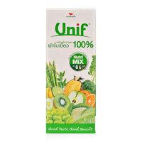 Nước ép rau và trái cây Unif hộp 200ml